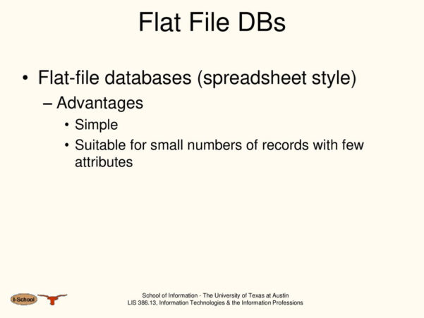 Flat File Database And Spreadsheets Within R. E. Wyllys Copyright © 2000R. E. Wyllys Last Revised 2003 Jun