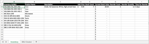 Fleet Inventory Spreadsheet Inside Learn How To Inventory Items In Your Retail Store