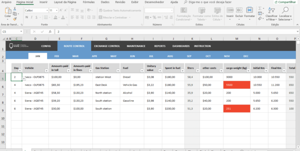 Fleet Management Spreadsheet Inside Fleet Management Spreadsheet Excel  Luz Spreadsheets