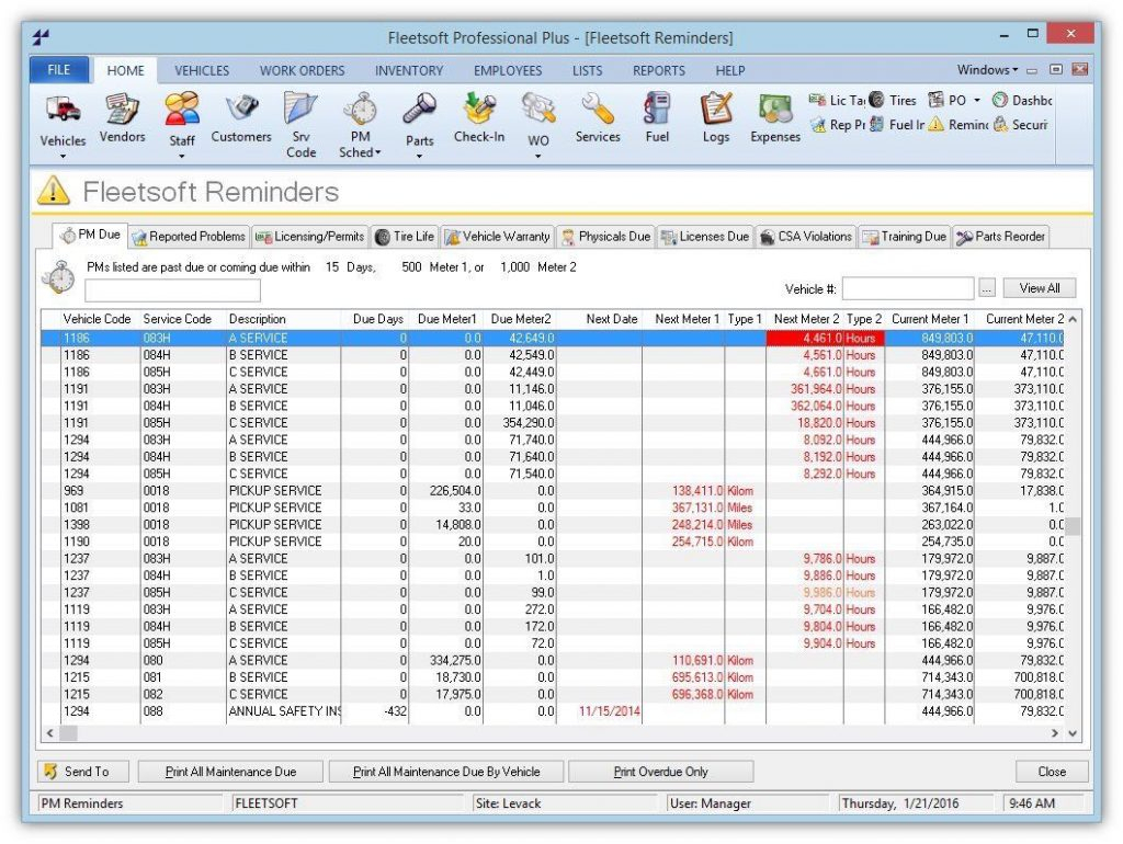 Fleet Management Spreadsheet With Fleet Maintenance Spreadsheet Excel Management Templates Sample