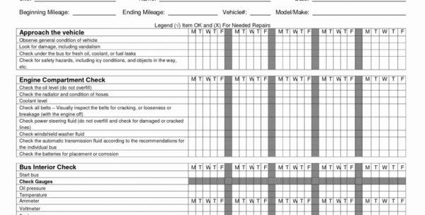 Fleet Vehicle Maintenance Spreadsheet Intended For Fleet Maintenance Spreadsheet Vehicle Elegant Sample Worksheets