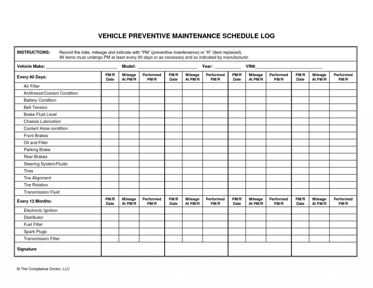 Fleet Vehicle Maintenance Spreadsheet Throughout 001 Fleet Vehicle Maintenance Log Template Free New Beautiful