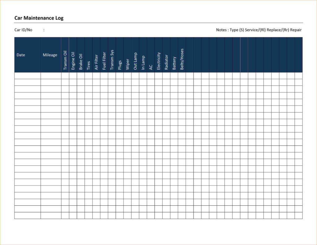 Fleet Vehicle Maintenance Spreadsheet Within Fleet Maintenance Spreadsheet And Fleet Vehicle Maintenance Log