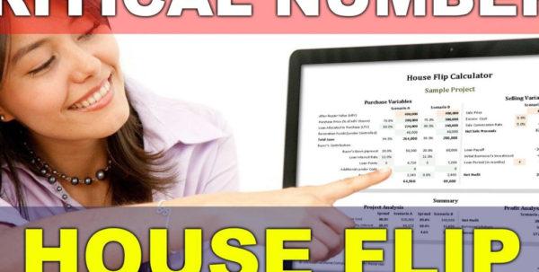 Flip Calculator Spreadsheet In House Flip Calculator Spreadsheet Overview  Part 1 Of 2 Inside