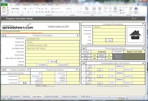 Flip Calculator Spreadsheet In House Rehab Spreadsheet Selo L Ink Co Flipping 2 Example Of Flip
