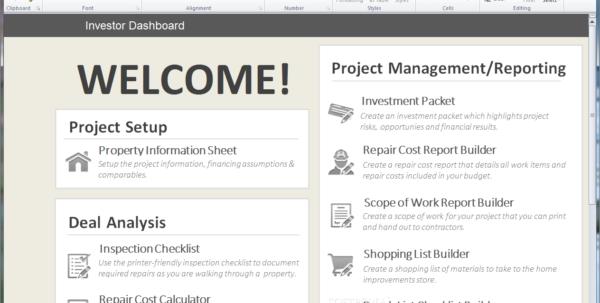 Flip Calculator Spreadsheet Within Download House Flipping Spreadsheet 1