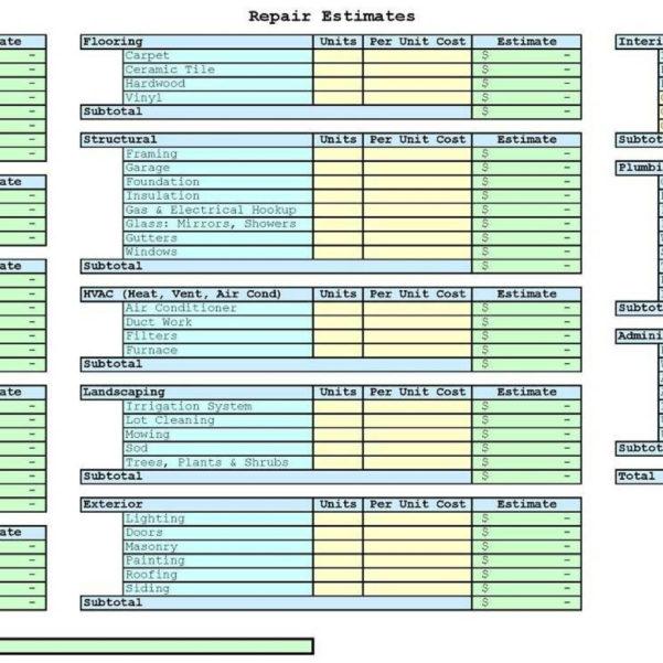 Flip Spreadsheet Excel In Real Estate Flipping Excel Spreadsheet  Spreadsheets Pertaining To