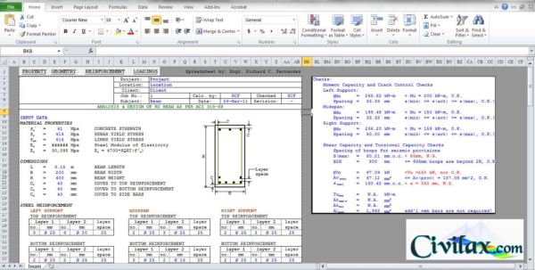 Flitch Beam Spreadsheet Regarding Flitch Beam Design Spreadsheet As Well As Flitch Beam Design Beam