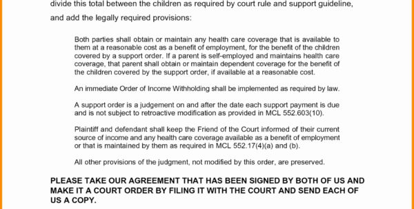 Florida Financial Affidavit Excel Spreadsheet For Form Templates Child Support Forms Ohio Estimator Fresh Direct