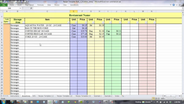 Food Cost Spreadsheet Template Free For Food Cost Spreadsheet Luxury Food Cost Inventory Spreadsheet Free