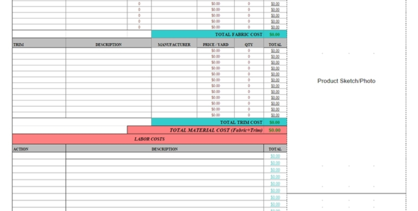 Food Product Cost & Pricing Spreadsheet Free With Regard To Sheet Food Product Cost Pricing Spreadsheet Free Download Small