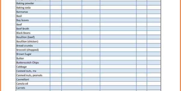 Food Storage Spreadsheet With Business Food Storage Inventory Template Example For Spreadsheet Food Storage Spreadsheet Google Spreadsheet