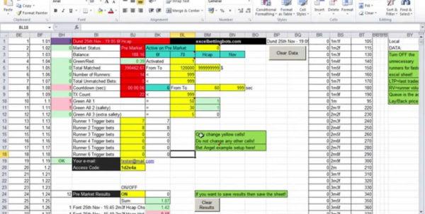 Football Betting Spreadsheet With Football Betting Spreadsheet Sheet Results Excel College Odds