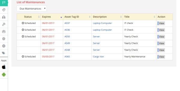 Football Equipment Inventory Spreadsheet Pertaining To Assettiger: Free Online Asset Management Service