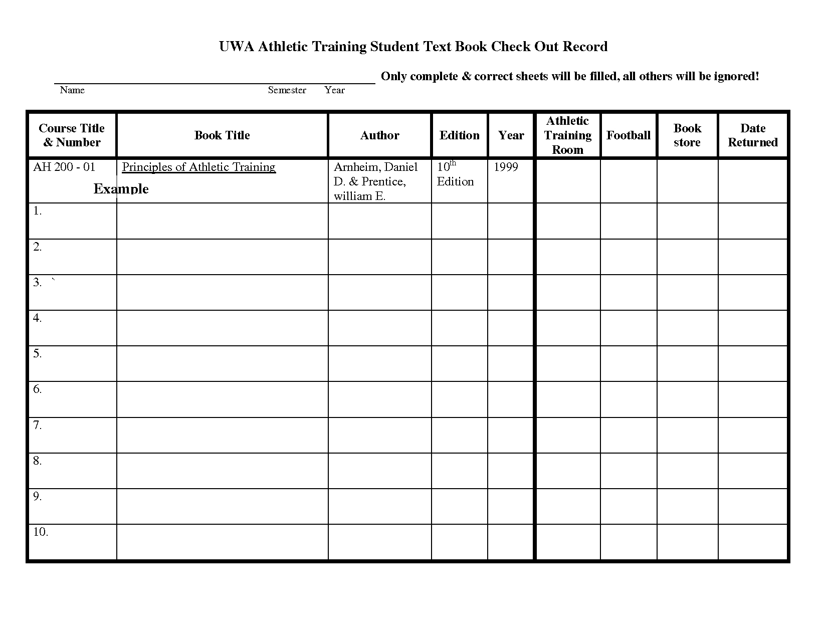 Football Equipment Inventory Spreadsheet With Check In Check Out Form  Rent.interpretomics.co