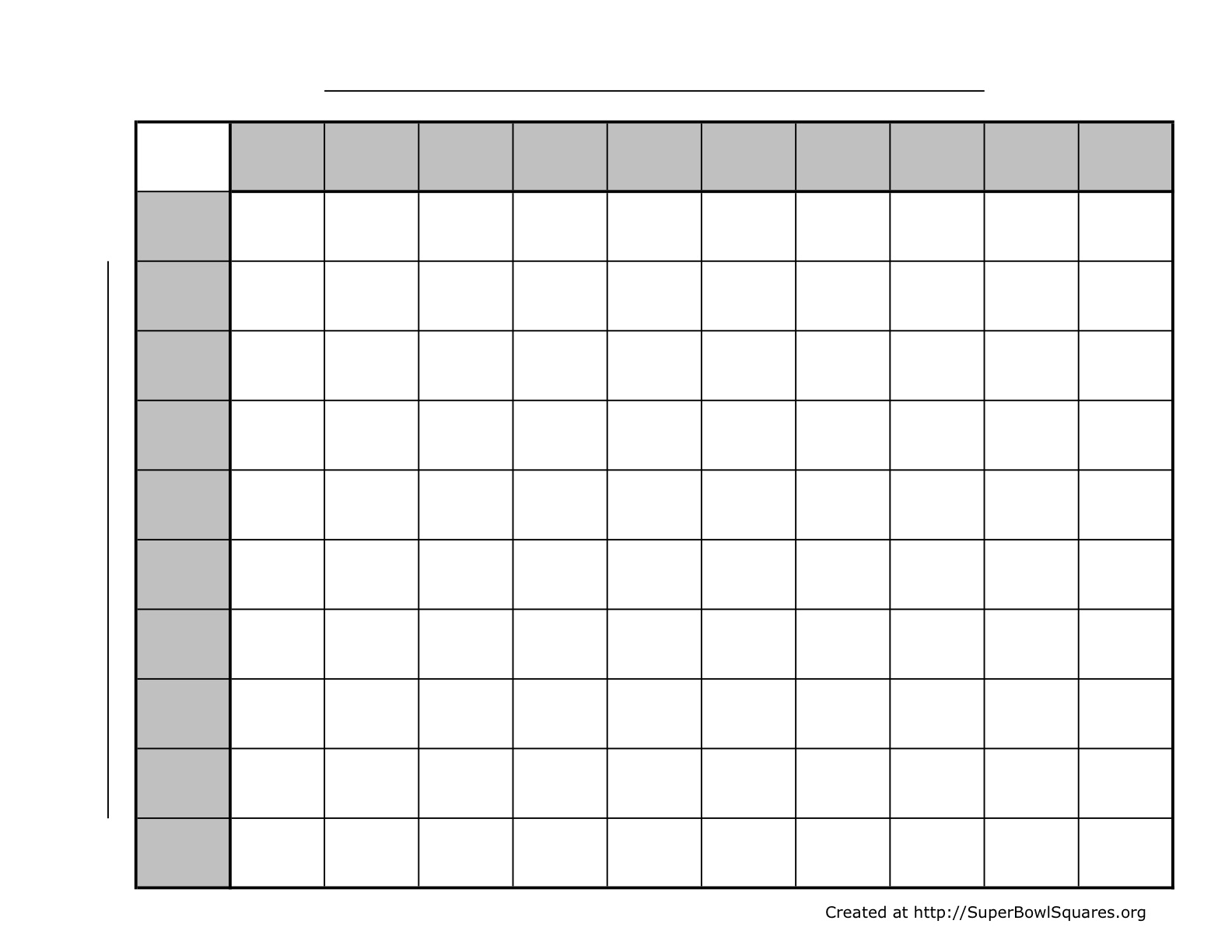 Football Pool Spreadsheet Pertaining To Printable Football Squares Sheets