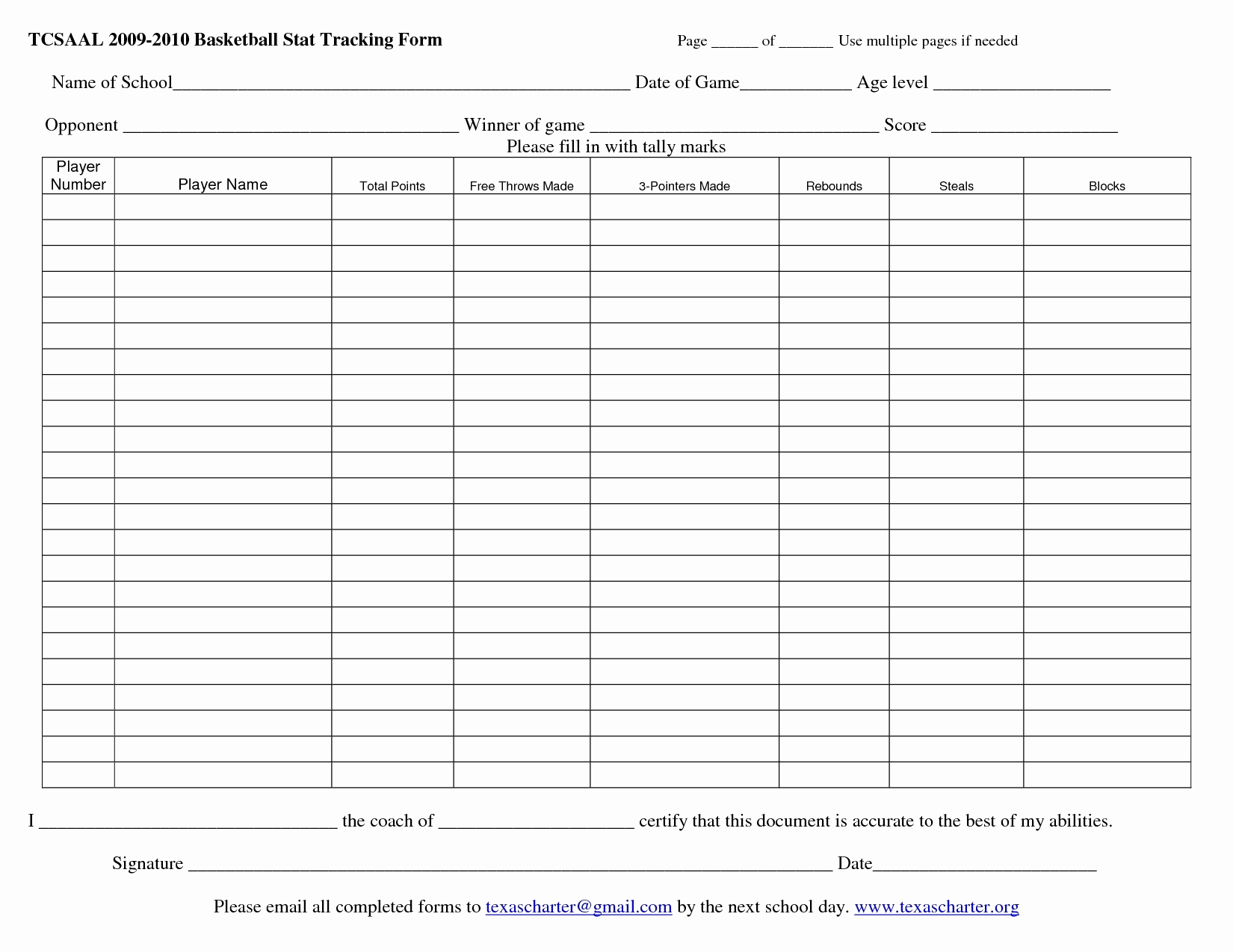 Football Statistics Excel Spreadsheet Pertaining To Printable Basketball Stat Sheet Template Free Football Stats Excel