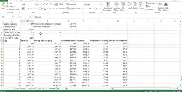 Forex compounding xls