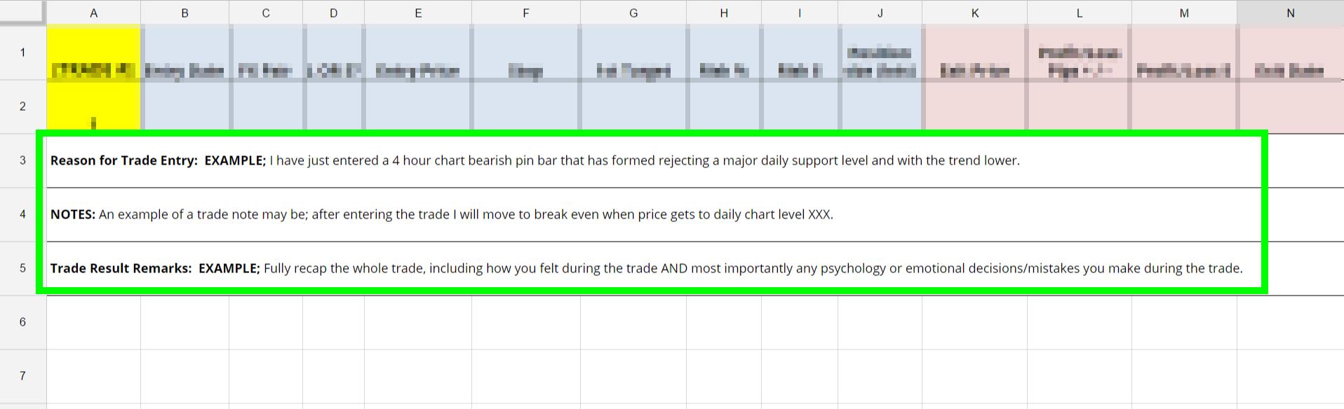 Forex Trading Journal Spreadsheet In Forex Trading Journal Spreadsheet Excel