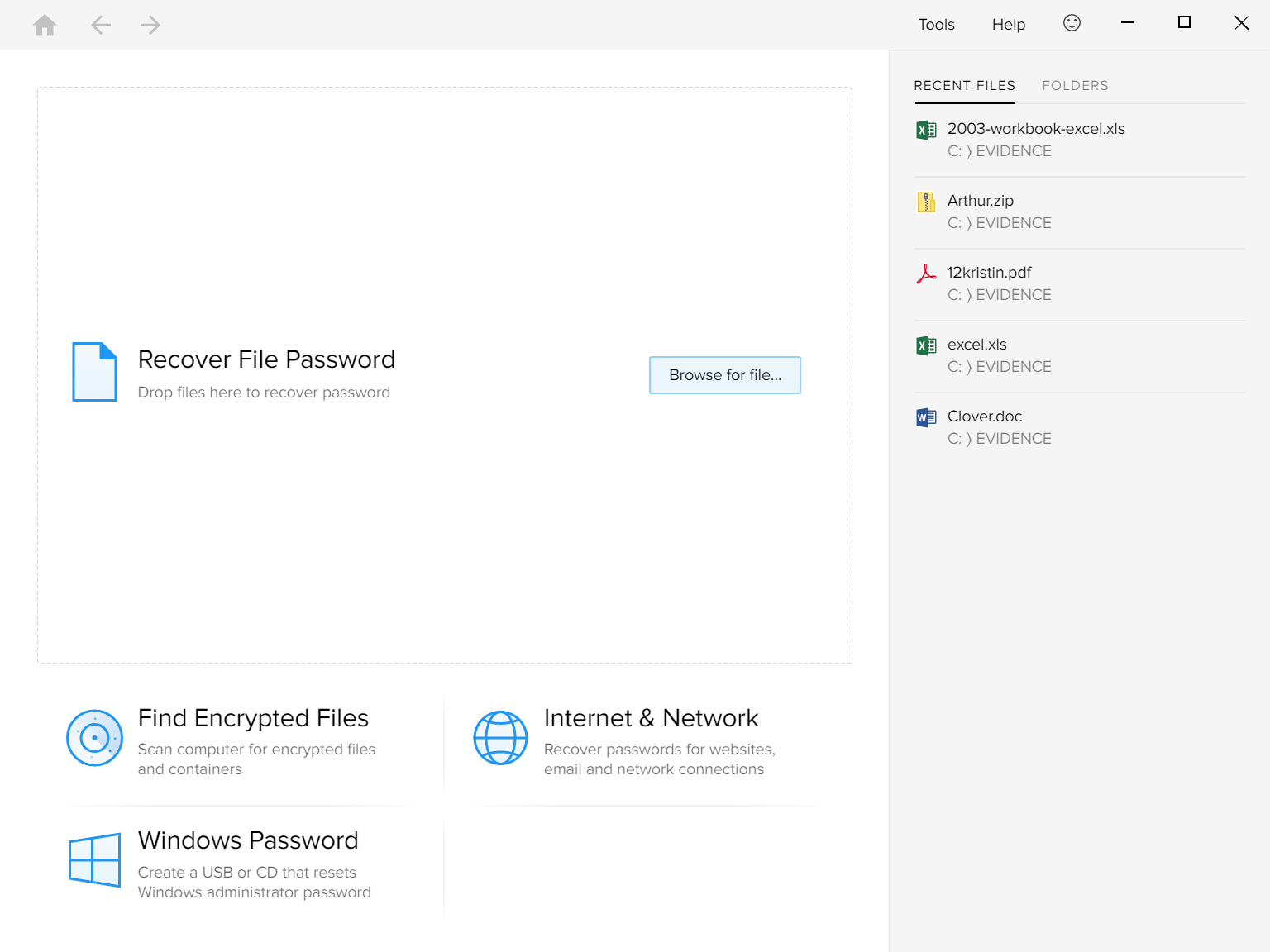 Forgot Password To Excel Spreadsheet Intended For Windows Password Recovery Toolspassware