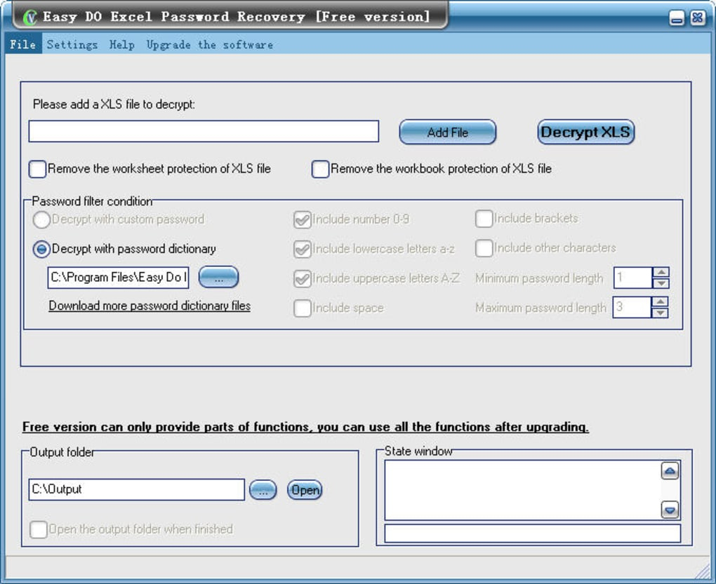 Forgot Password To Excel Spreadsheet Pertaining To Free Easy Do Excel Password Recovery  Download