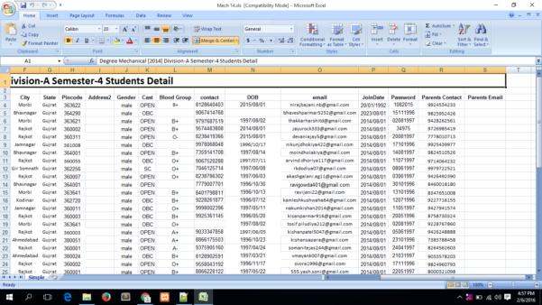 Formatting Excel Spreadsheet Regarding Formatting Excel Spreadsheet Php Date Format Not Inserting In Mysql
