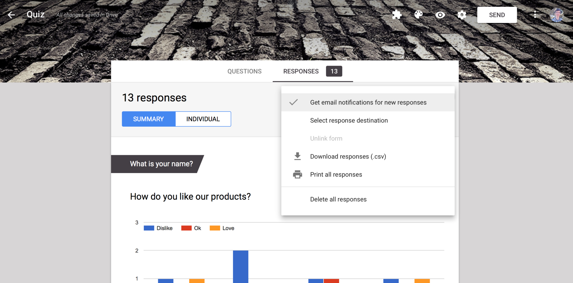 Forms Google Com Spreadsheet In How To Get Customized Email Notifications From Google Forms With A