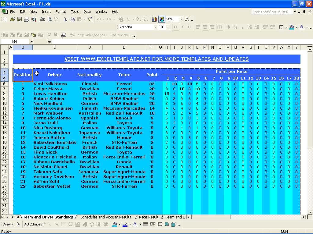 Formula 1 Excel Spreadsheet Pertaining To Microsoft Excel Formula List Pdf  Homebiz4U2Profit