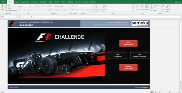 Formula 1 Excel Spreadsheet Within Excel Sports And Health Templates  Spreadsheets