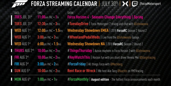 Forza 6 Tuning Spreadsheet In News, Livestreams, Alerts, And Calendar For Fm7  Page 12  Forza