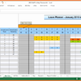 Free Annual Leave Spreadsheet Excel Template inside Annual Leave Chart Excel Template