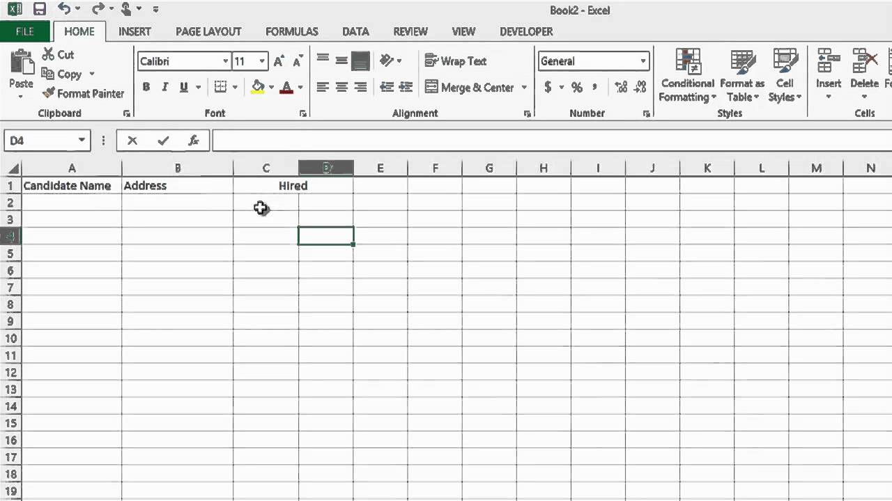 free applicant tracking spreadsheet template  u2013 db
