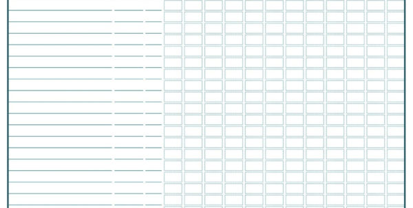 Free Bill Payment Spreadsheet Pertaining To Free Monthly Bill Payment Sheet  Blank Calendar Template