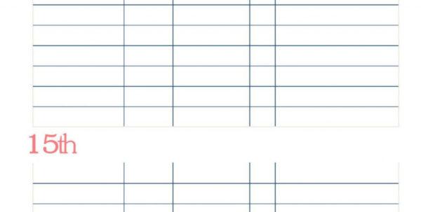 Free Bill Tracking Spreadsheet Regarding Free Bill Tracking Spreadsheet  Resourcesaver