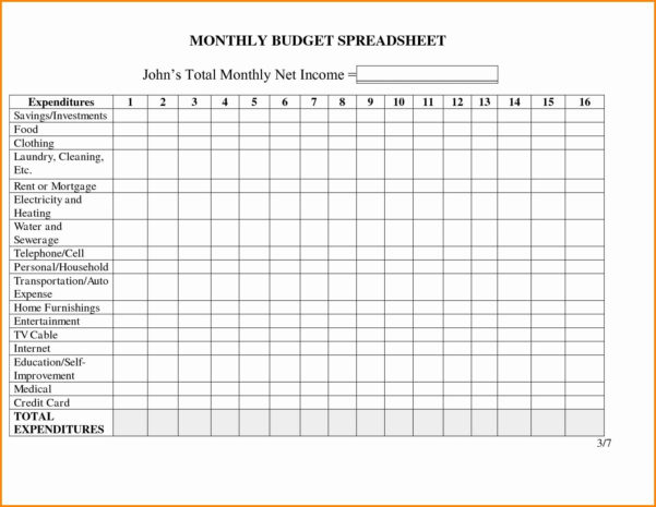 Free Blank Excel Spreadsheet Templates For Free Blank Excel Spreadsheet Templates – Spreadsheet Collections