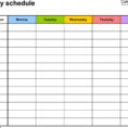 Free Blank Spreadsheet Inside Free Blank Excel Spreadsheet Templates Weekly Schedule For