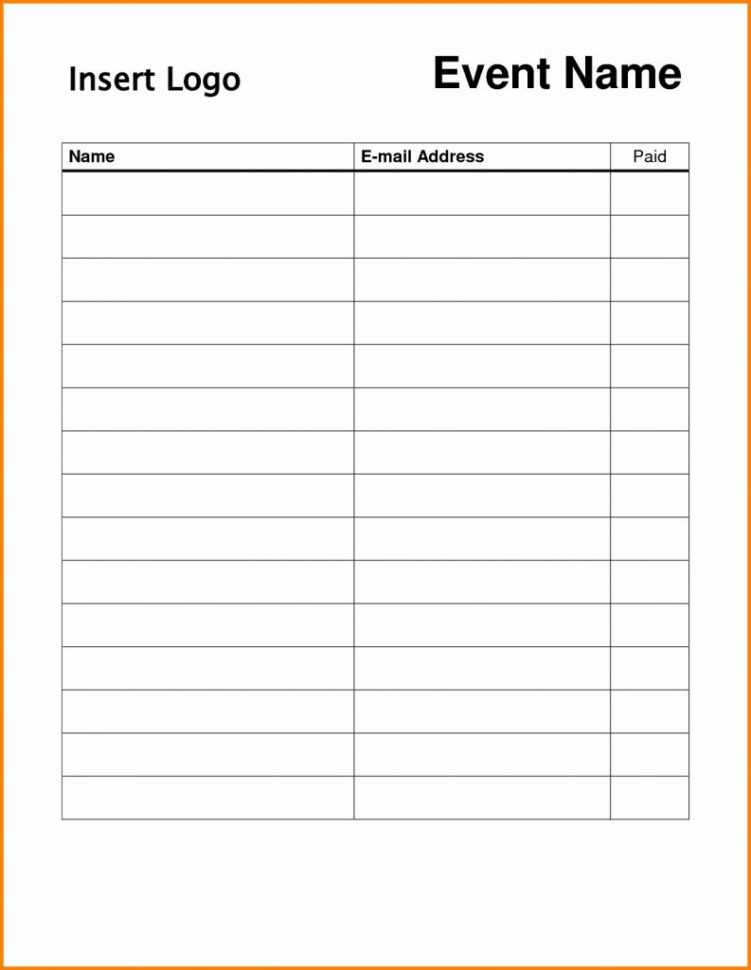 Free Blank Spreadsheet Pertaining To Blank Spreadsheet To Print Free Roster Template For Teachers
