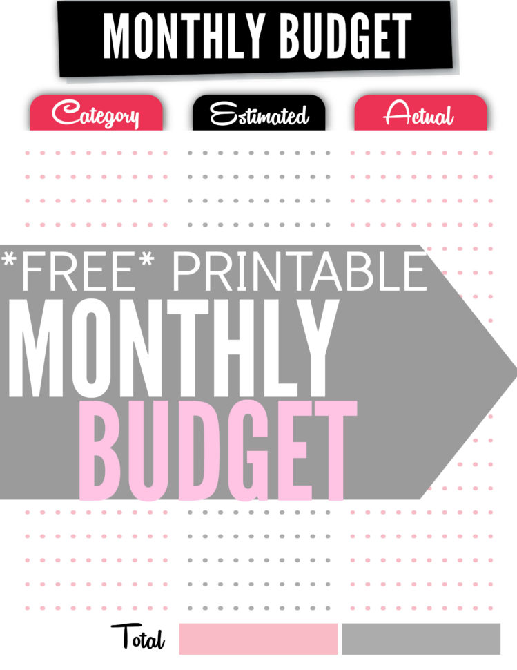Free Budget Spreadsheet With Regard To How To Create A Budget Plus Free Budget Worksheet  Single Moms Income
