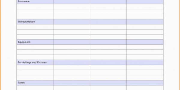 Free Business Budget Spreadsheet In Free Business Expense Spreadsheet Excel Templates For Accounting