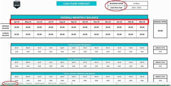 Free Cash Flow Spreadsheet With Regard To 61 Amazing Models Of Free Cash Flow Template Excel Download  Templates