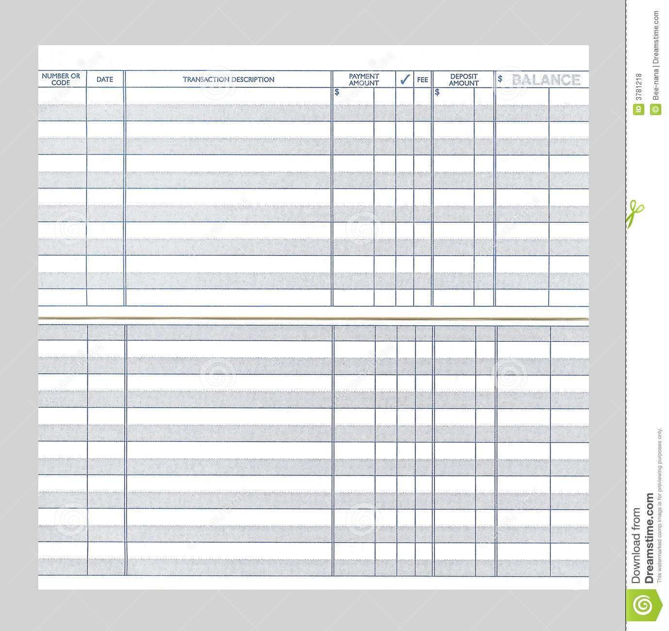 Free Checking Account Spreadsheet With Regard To Free Electronic Checkbook  Alex.annafora.co