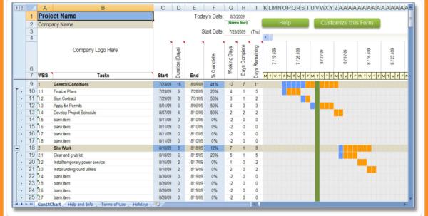 Free Construction Schedule Spreadsheet Throughout 89 Free Construction Schedule Spreadsheet  Wear2014