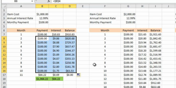 Free Debt Calculator And Spreadsheet From Vertex In Example Of Free Debt Calculator And Spreadsheet From Vertex Payoff