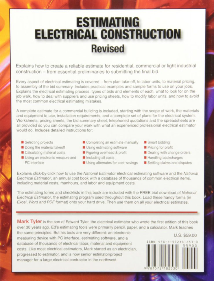 Free Electrical Estimating Spreadsheet Regarding Electrical Estimating Spreadsheet Construction Elegant 27 Of Cost