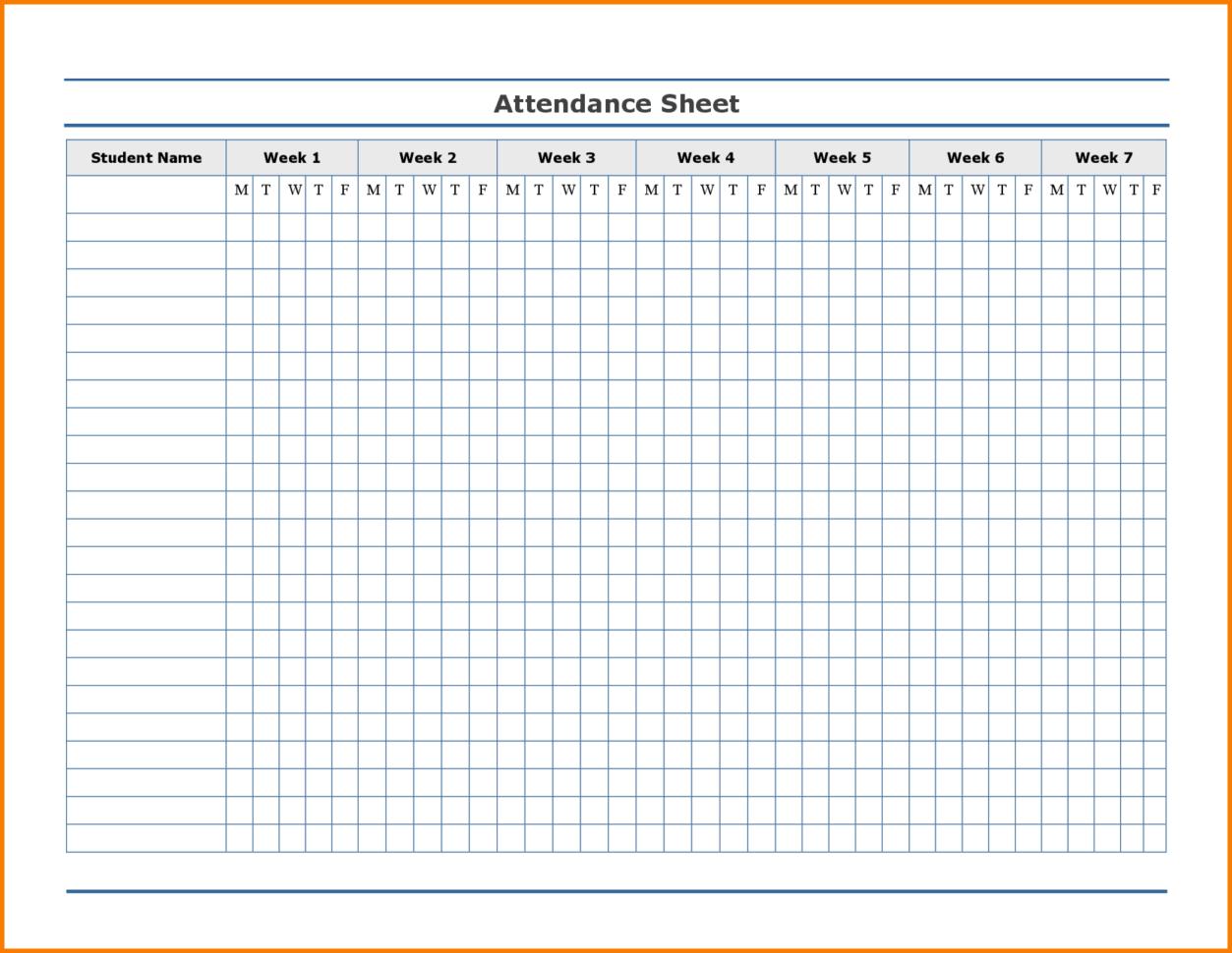 Free Employee Attendance Tracking Spreadsheet For Free Employee Attendance Calendar  Employee Tracker Templates 2019