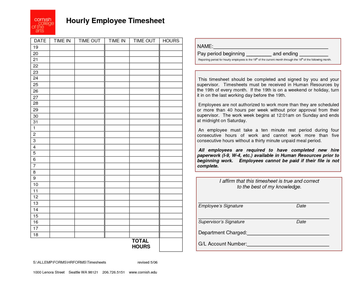 Free Employee Time Tracking Spreadsheet Pertaining To Free Employee Time Tracking Spreadsheet Blank Sheets Simple