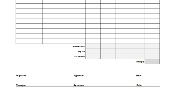 Free Employee Time Tracking Spreadsheet Pertaining To Free Time Tracking Spreadsheets  Excel Timesheet Templates