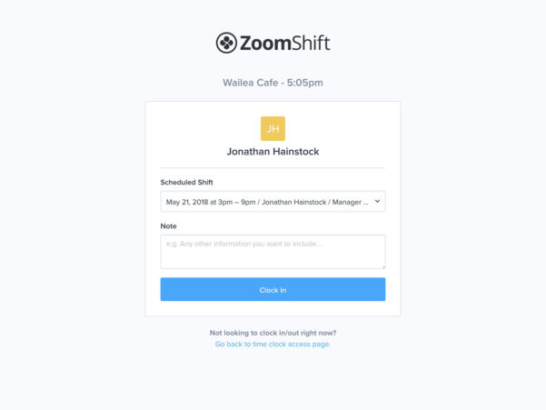 Free Employee Time Tracking Spreadsheet With Regard To Free Time Clock Software  Zoomshift