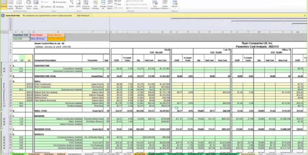 Free Estimating Spreadsheet In Free Construction Cost Estimate Template Excel  Homebiz4U2Profit