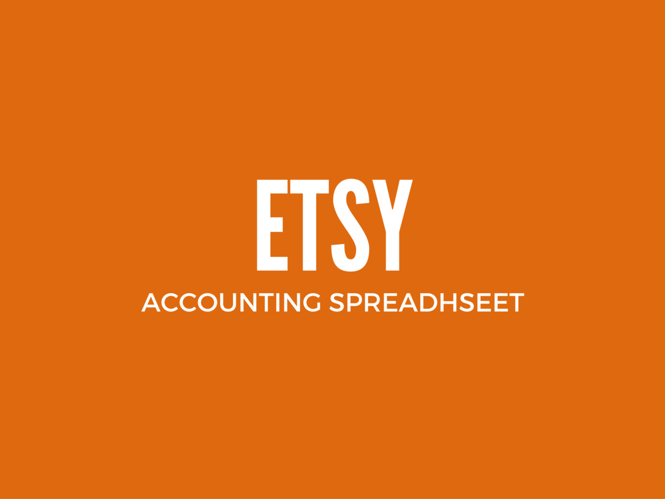 Free Etsy Bookkeeping Spreadsheet For Excel Spreadsheet For Etsy Sellers  Etsy Inventory